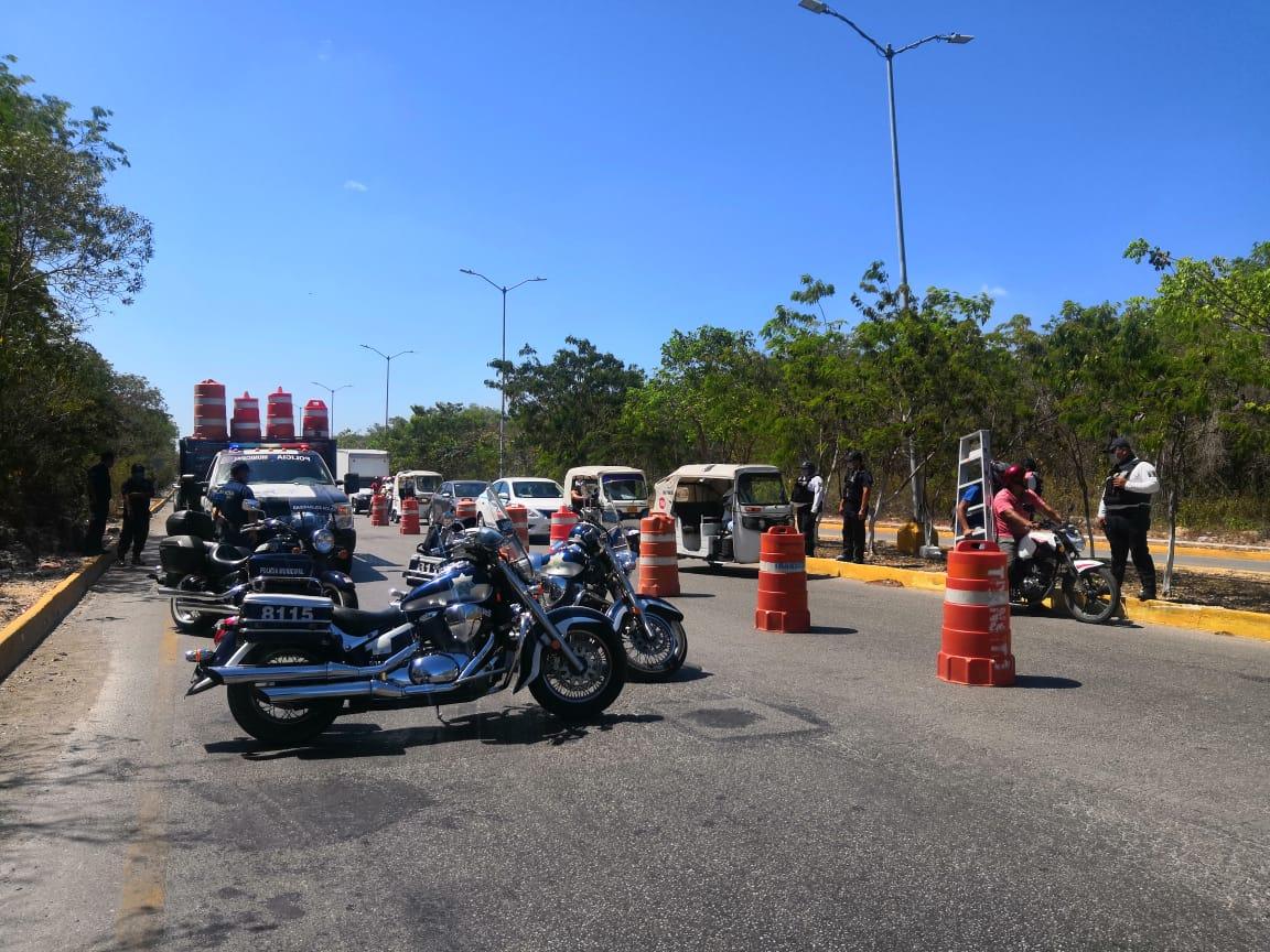Policía municipal de Solidaridad coordina acciones para extremar ...