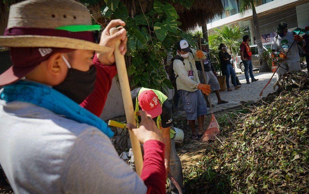 Manos solidarias Playa del Carmen