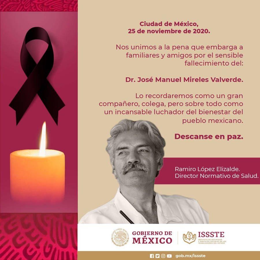 Muere José Manuel Mireles por COVID-19. Noticias en tiempo real