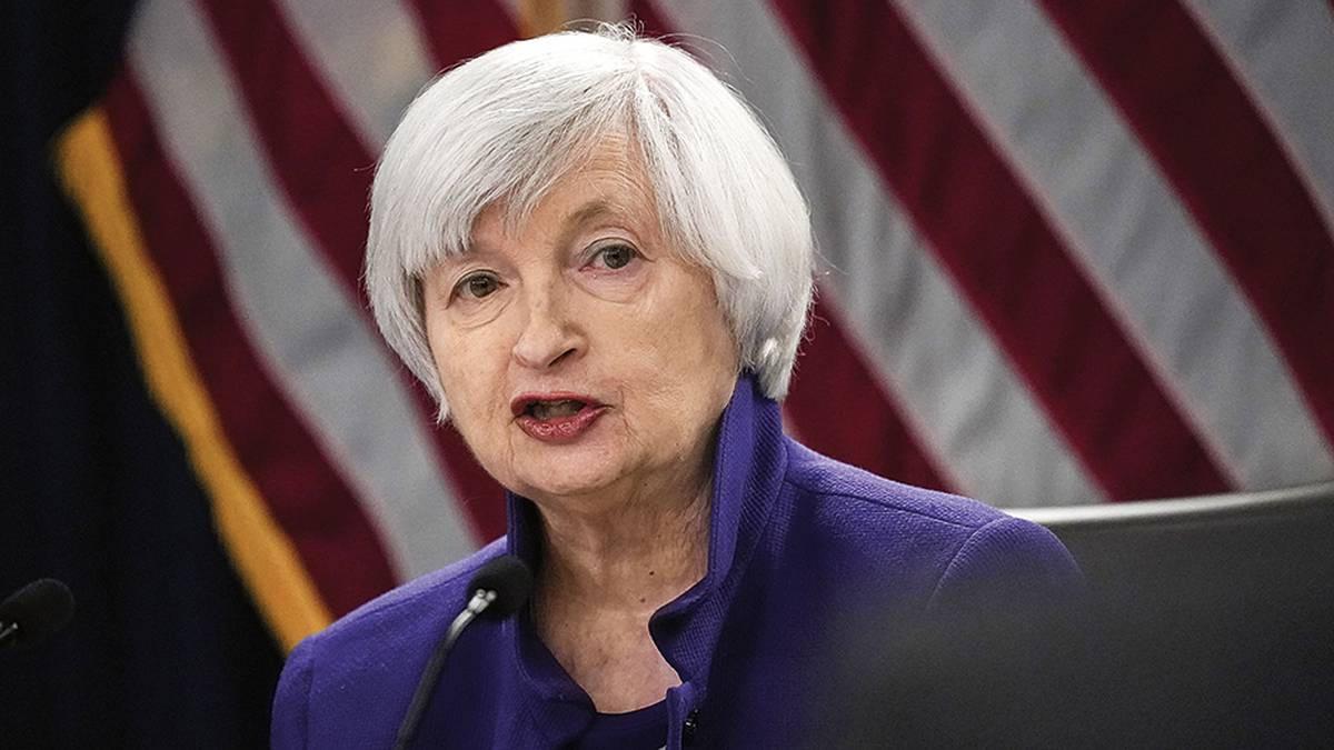 Janet Yellen es la primera mujer en dirigir el Departamento del Tesoro de EEUU. Noticias en tiempo real