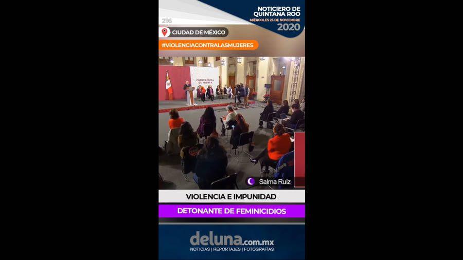 Noticiero de Quintana Roo| Miércoles 25 de noviembre 2020. Noticias en tiempo real
