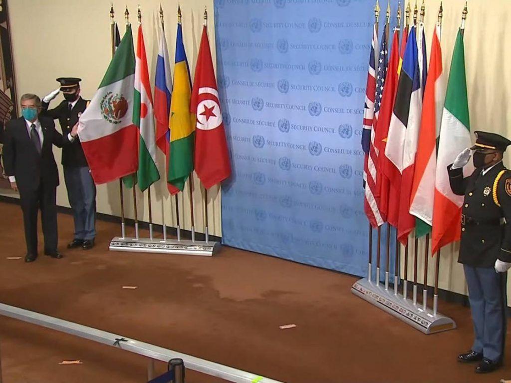 Se une México al Consejo de Seguridad de la ONU