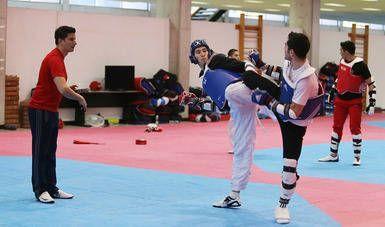 Taekwondo nacional busca dos justas de fogueo.