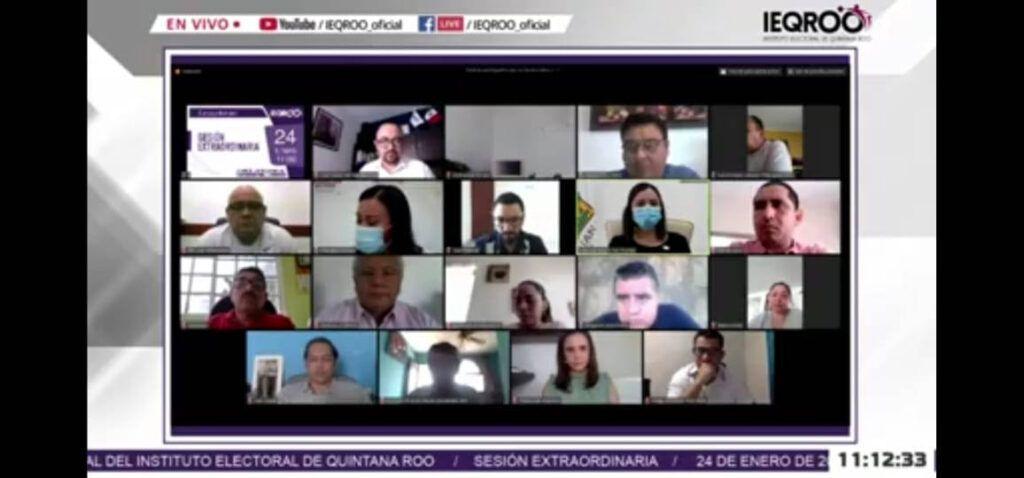 """Aprobó IEQROO coaliciones parciales """"Va por Quintana Roo"""" y """"Juntos haremos historia en Quintana Roo"""""""